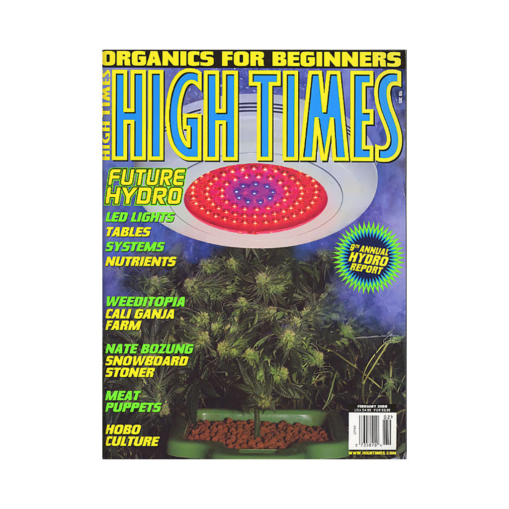 <!--020071225003144-->High Times - 'Issue 385, February 2008' [Magazine]