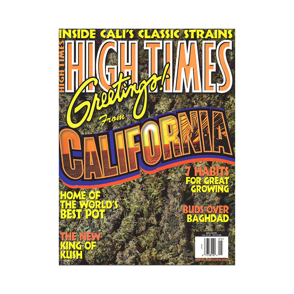<!--020080325003143-->High Times - 'Issue 388, May 2008' [Magazine]