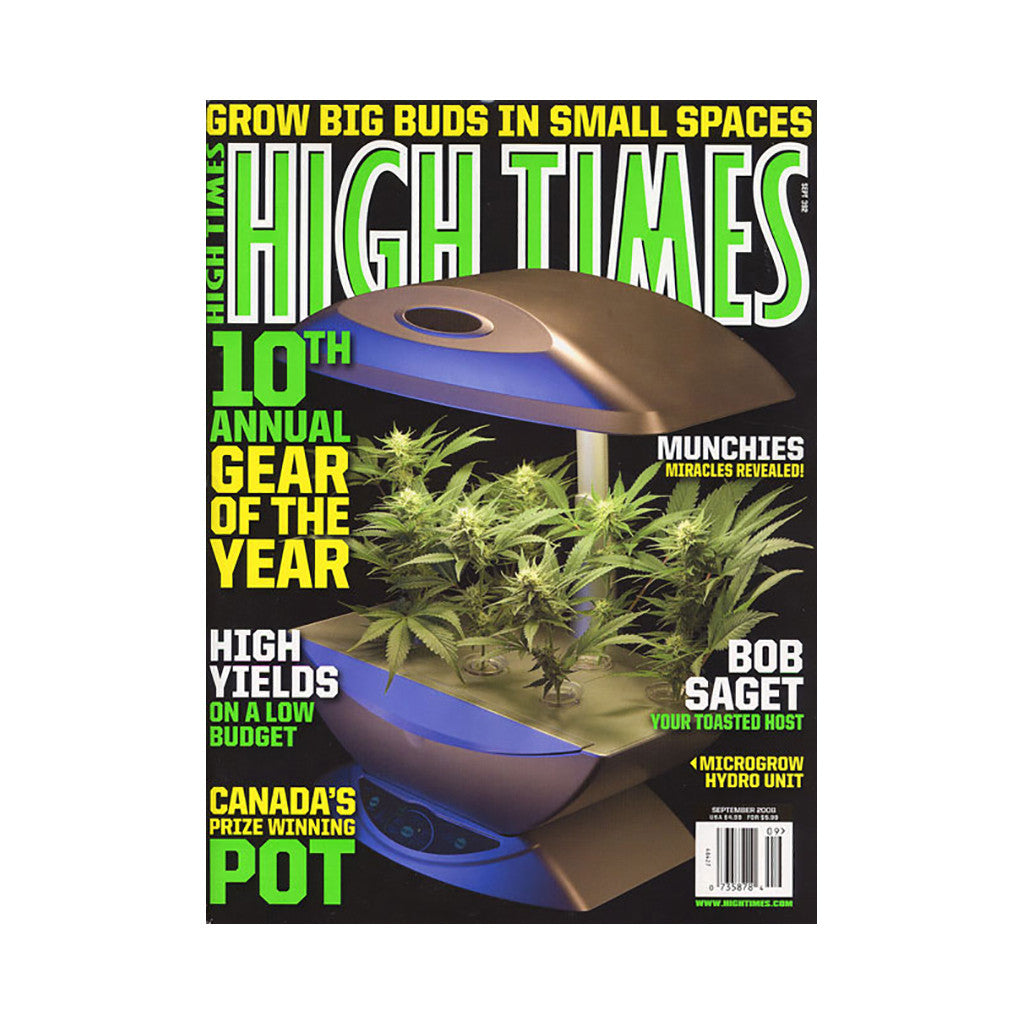 <!--020080729014522-->High Times - 'Issue 392, September 2008' [Magazine]