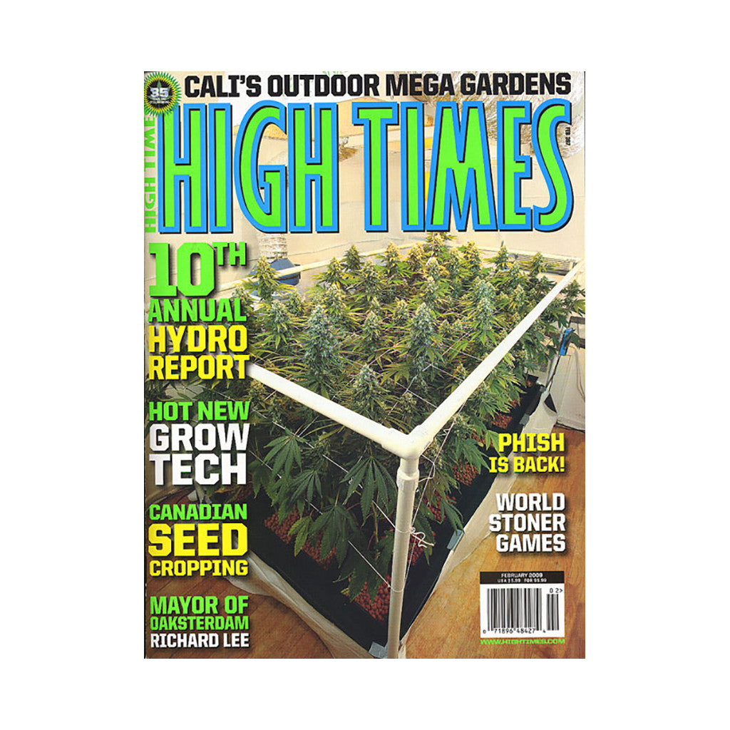 <!--020081223015705-->High Times - 'Issue 397, February 2009' [Magazine]