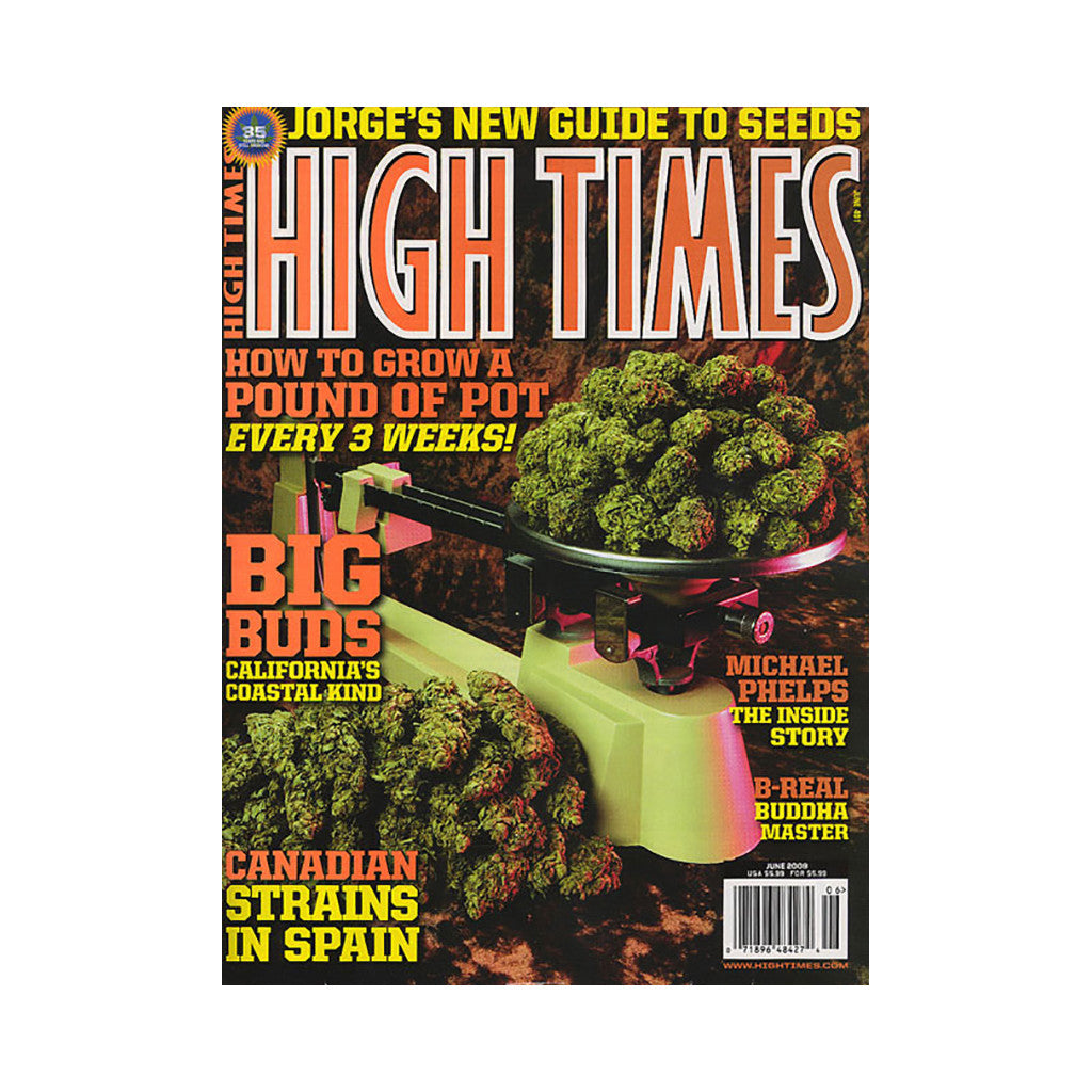 <!--020090512016996-->High Times - 'Issue 401, June 2009' [Magazine]