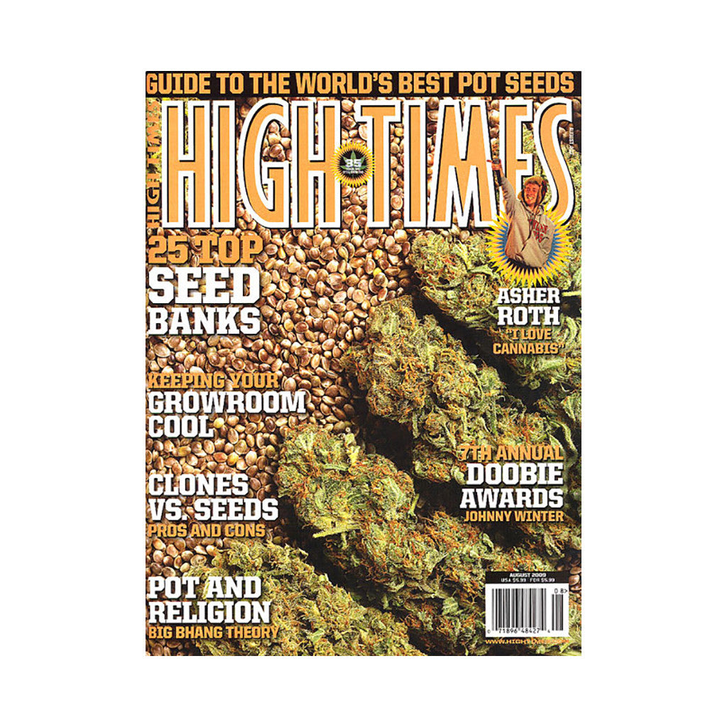 <!--020090623017407-->High Times - 'Issue 403, August 2009' [Magazine]