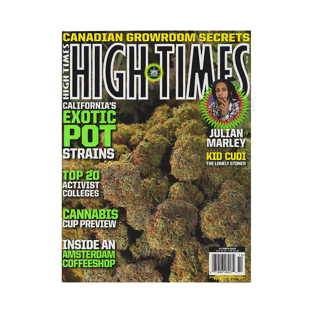 <!--020090901018115-->High Times - 'Issue 405, October 2009' [Magazine]