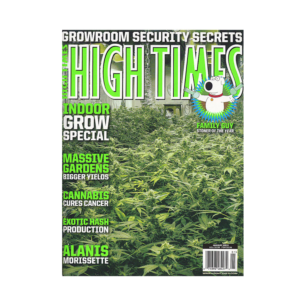 <!--020091117019124-->High Times - 'Issue 408, January 2010' [Magazine]