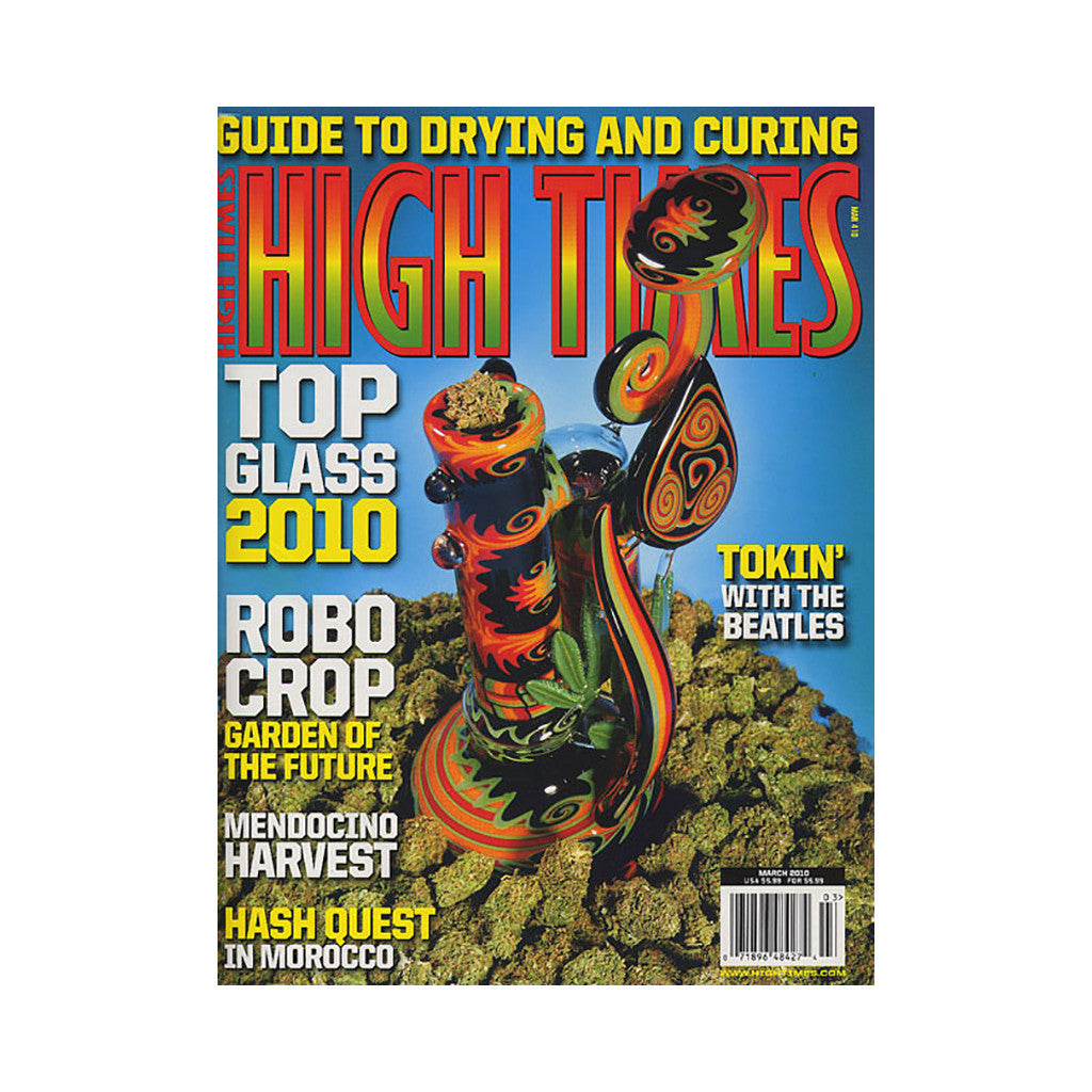 <!--020100202019919-->High Times - 'Issue 410, March 2010' [Magazine]