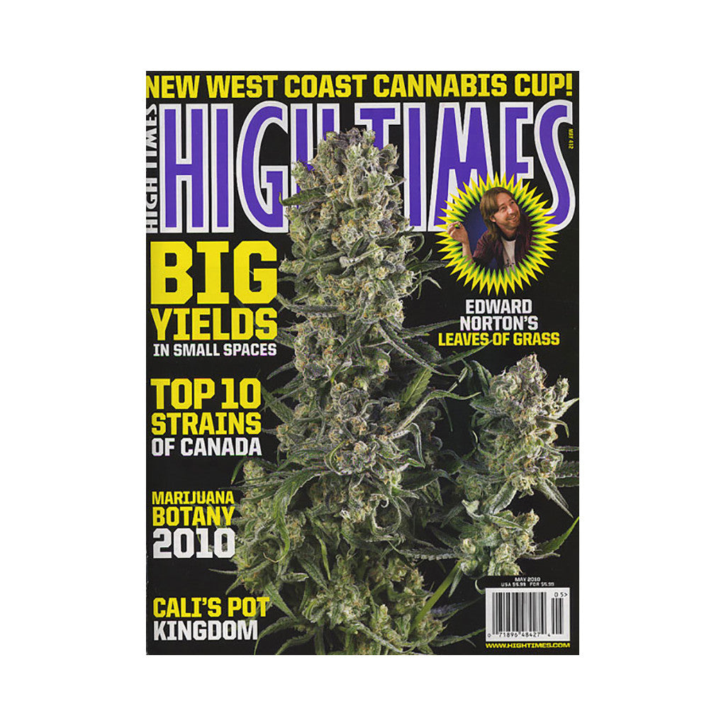 <!--020100309020363-->High Times - 'Issue 412, May 2010' [Magazine]
