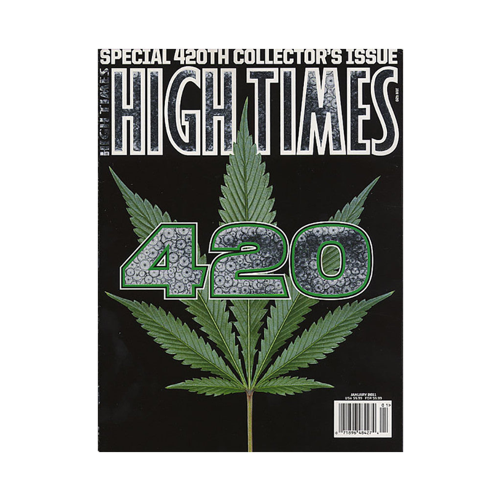 <!--020101116025342-->High Times - 'Issue 420, January 2011' [Magazine]
