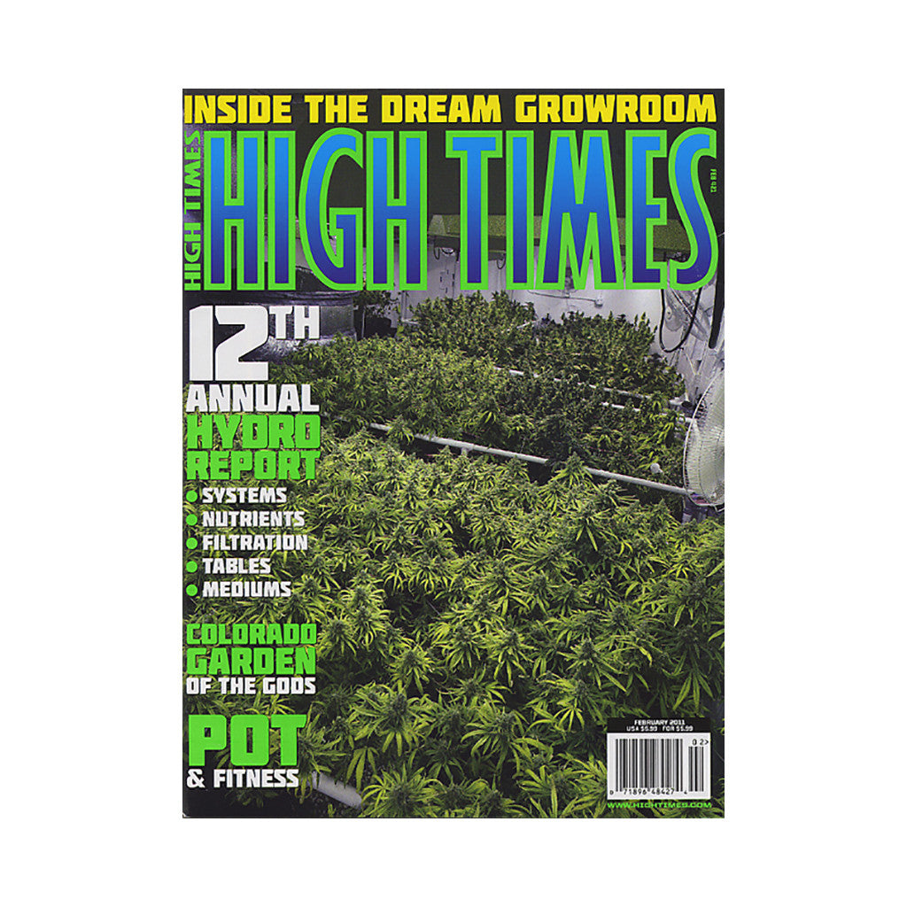 <!--020101214026165-->High Times - 'Issue 421, February 2011' [Magazine]