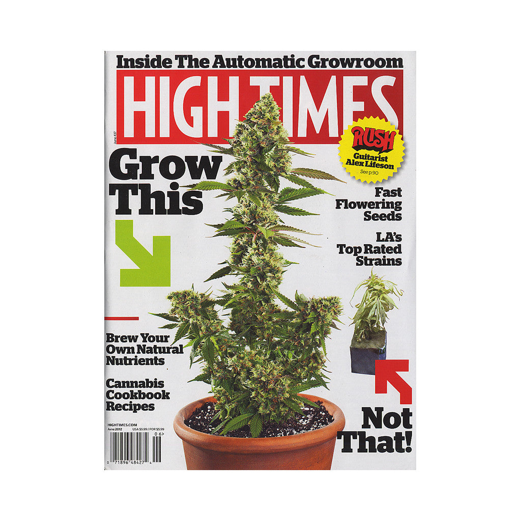 <!--020120424044022-->High Times - 'Issue 437, June 2012' [Magazine]