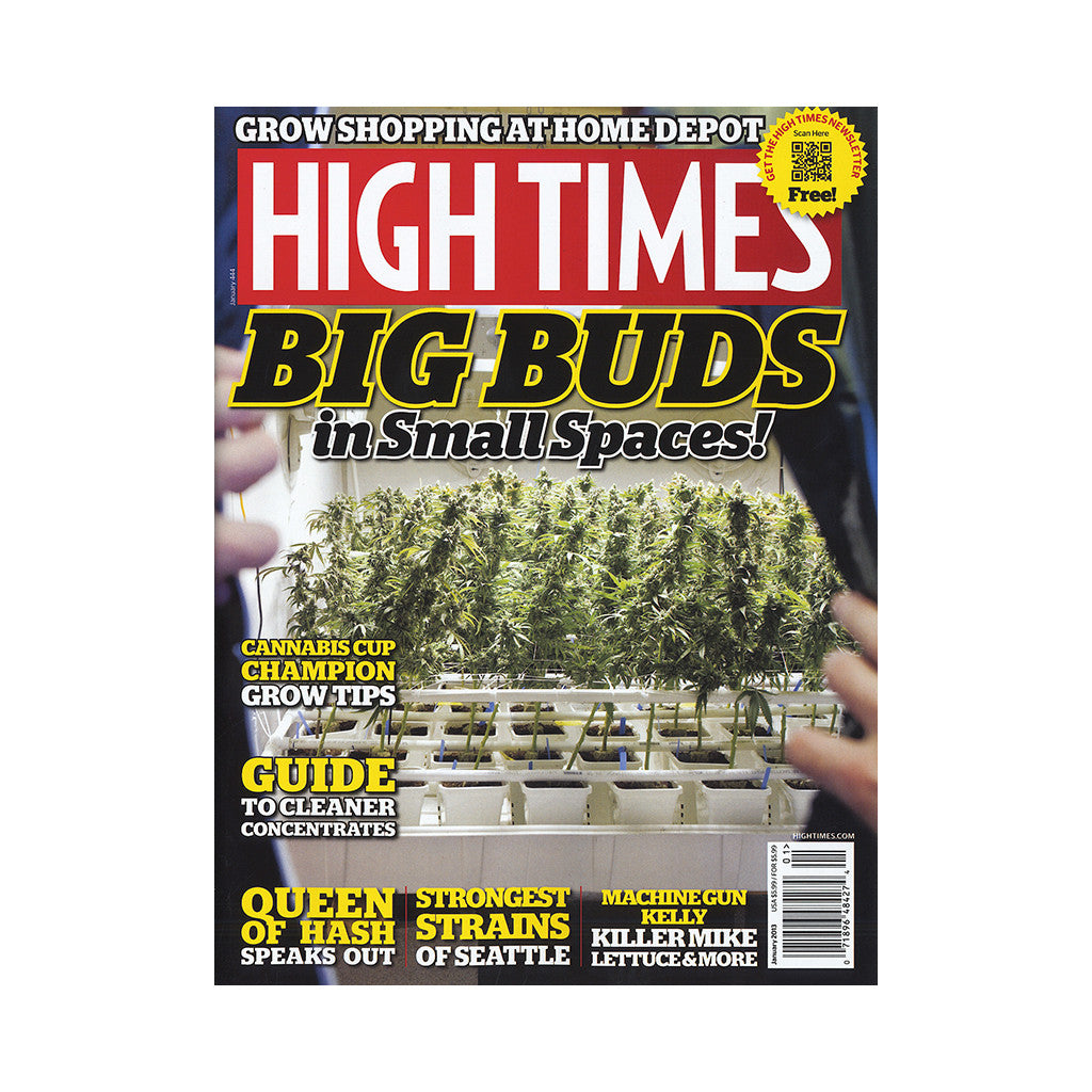 <!--020121113051621-->High Times - 'Issue 444, January 2013' [Magazine]