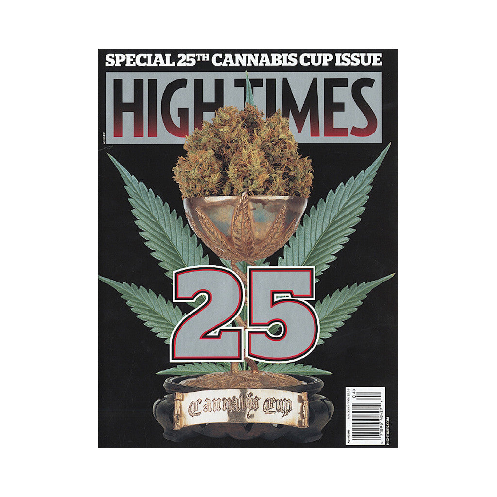 <!--020130219053974-->High Times - 'Issue 447, April 2013 - Special 25th Cannabis Cup Issue' [Magazine]