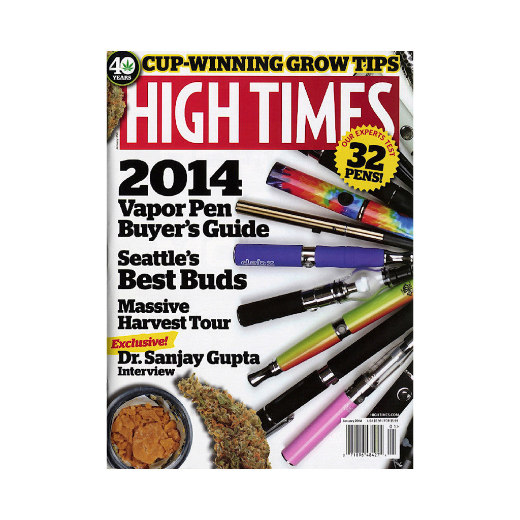 <!--020131203061179-->High Times - 'Issue 456, January 2014' [Magazine]