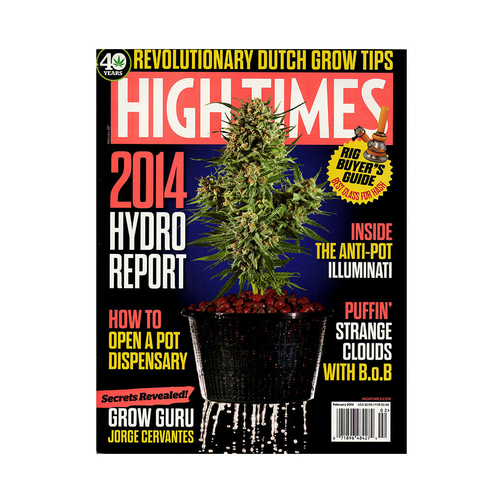 <!--020131230061979-->High Times - 'Issue 457, February 2014' [Magazine]