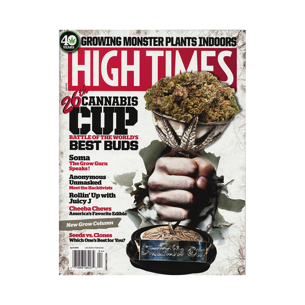 <!--020140220062525-->High Times - 'Issue 459, April 2014' [Magazine]