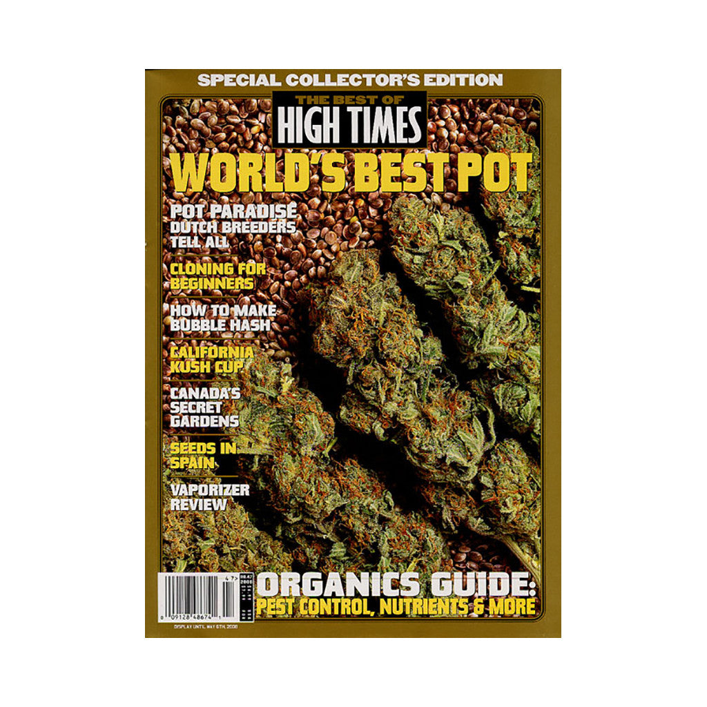 <!--020080122012841-->High Times - 'The Best Of High Times - Issue 47: Organics Guide' [Magazine]