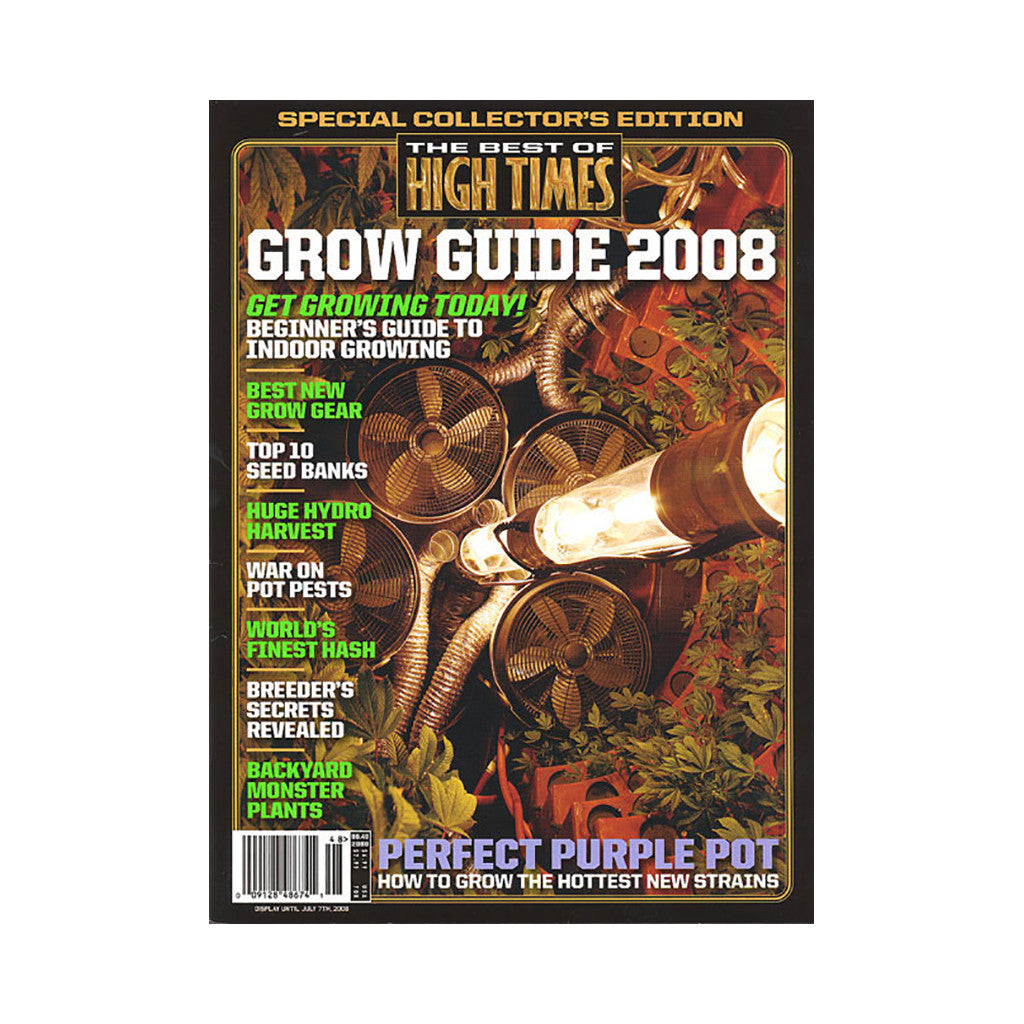 <!--020080415013540-->High Times - 'The Best Of High Times - Issue 48: Grow Guide 2008' [Magazine]