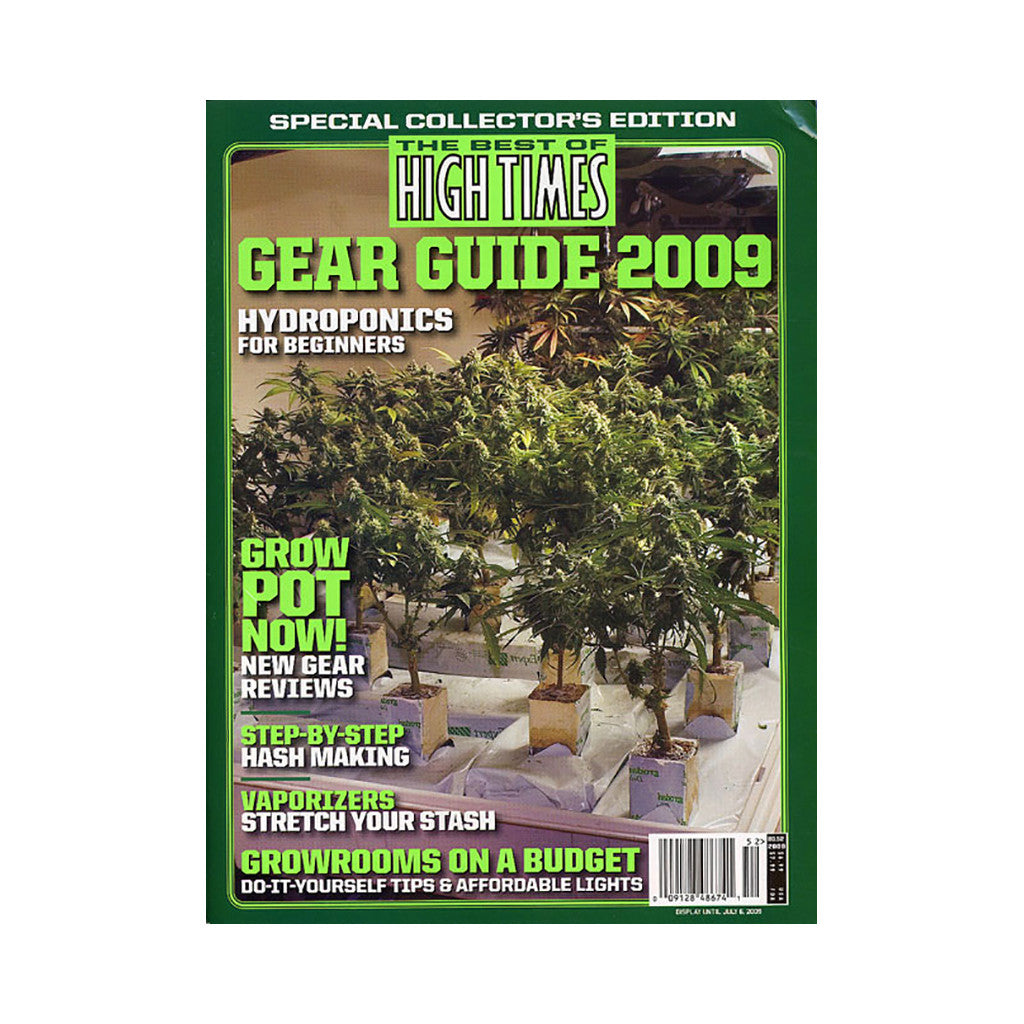 <!--020090407016611-->High Times - 'The Best Of High Times - Issue 52: Gear Guide 2009' [Magazine]