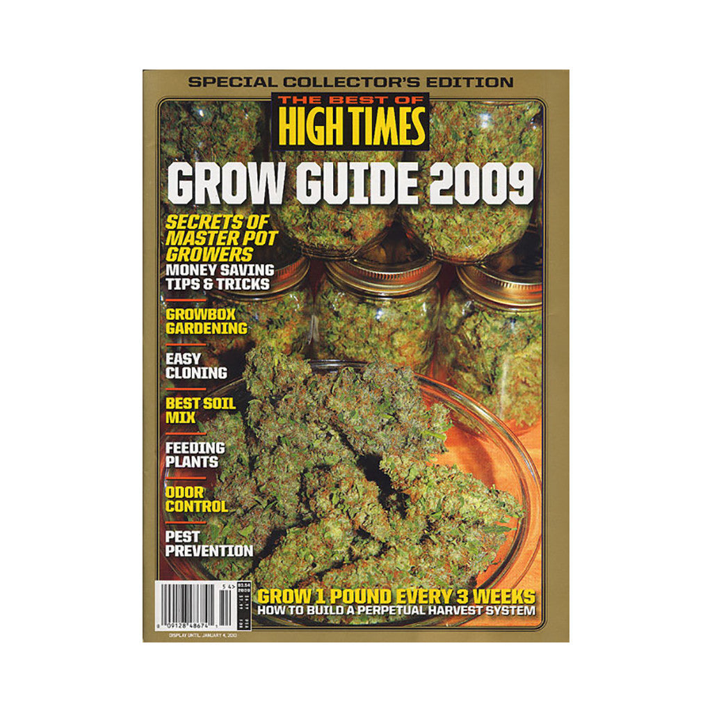 <!--020091013018681-->High Times - 'The Best Of High Times - Issue 54: Grow Guide 2009' [Magazine]