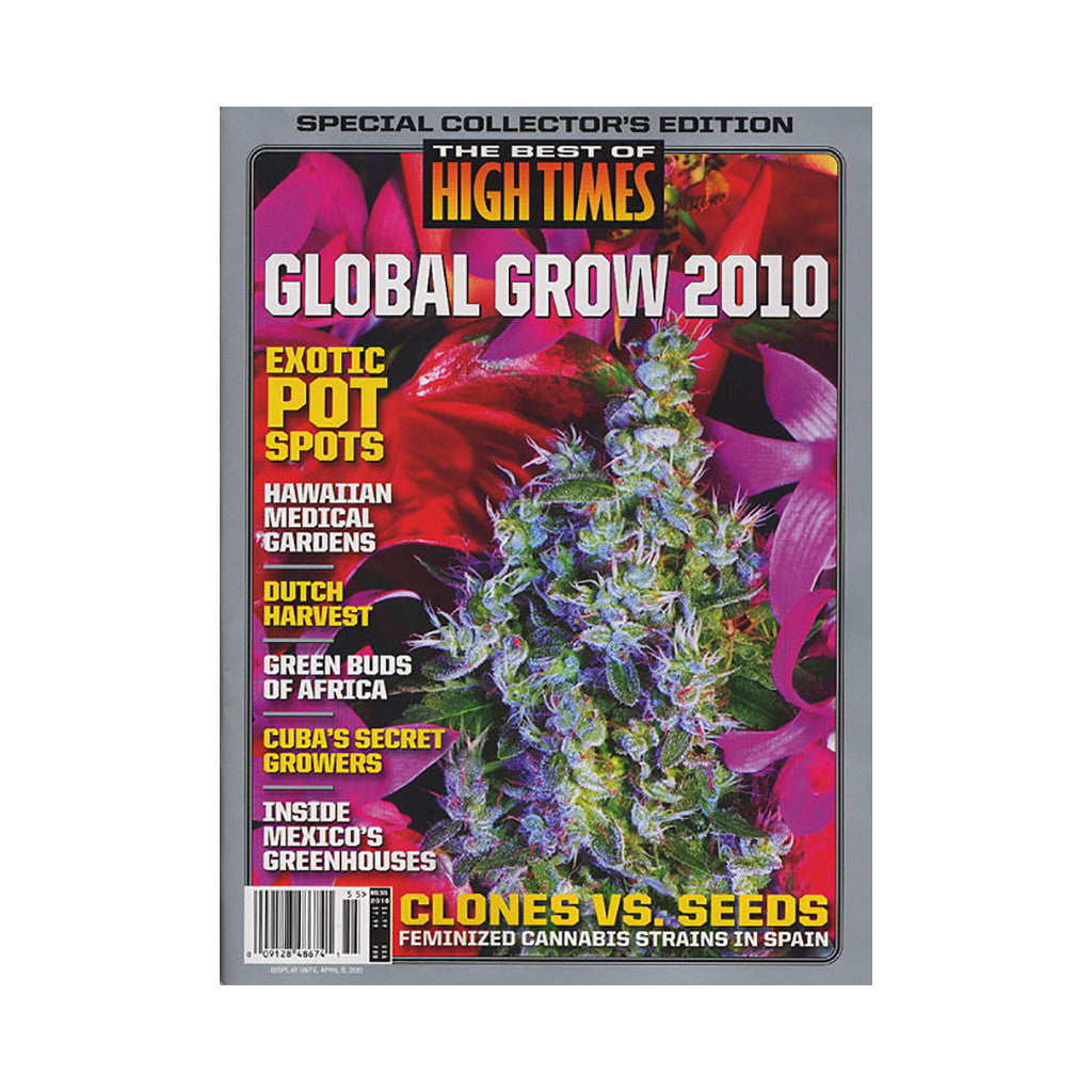 <!--020100112019727-->High Times - 'The Best Of High Times - Issue 55: Global Grow 2010' [Magazine]