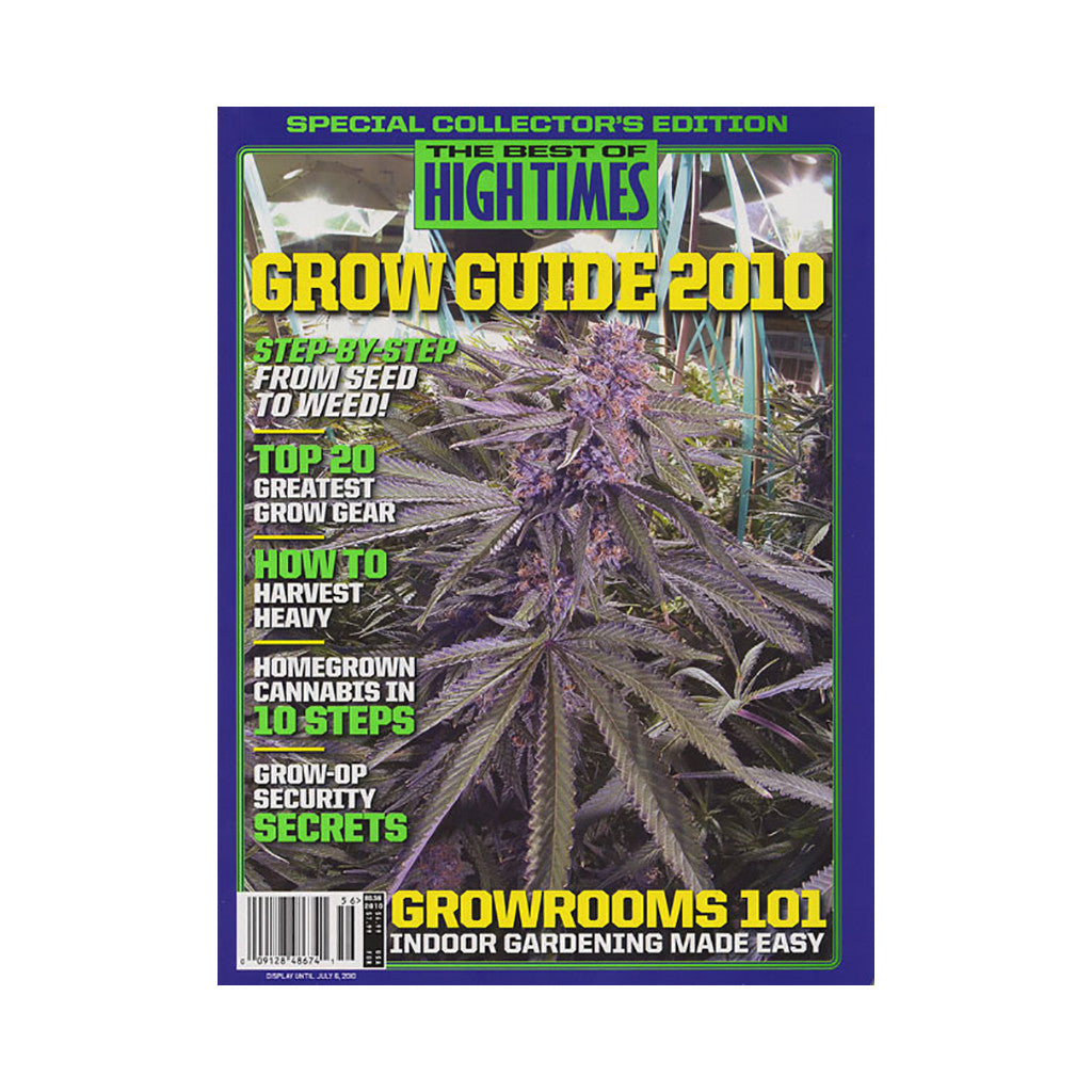 <!--020100413020962-->High Times - 'The Best Of High Times - Issue 56: Grow Guide 2010' [Magazine]