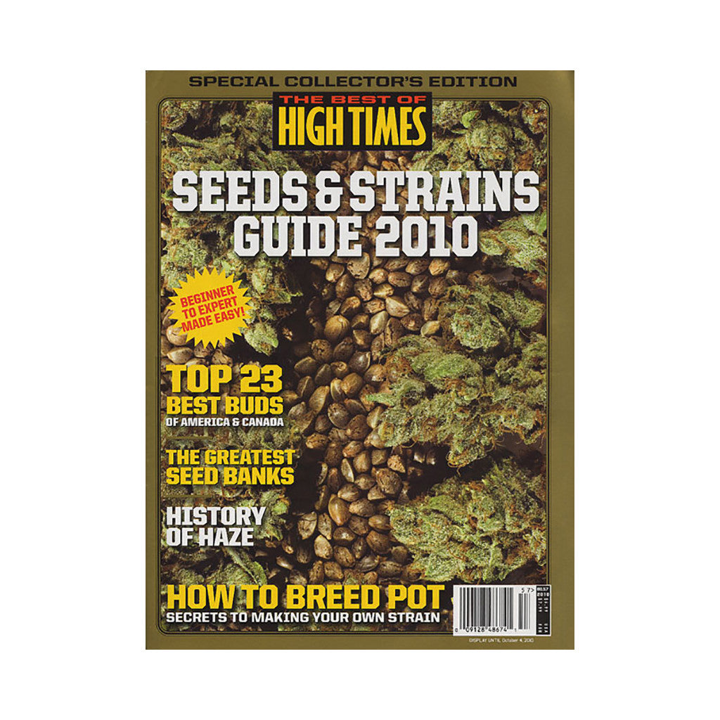 <!--020100622022060-->High Times - 'The Best Of High Times - Issue 57: Seeds & Strains Guide 2010' [Magazine]