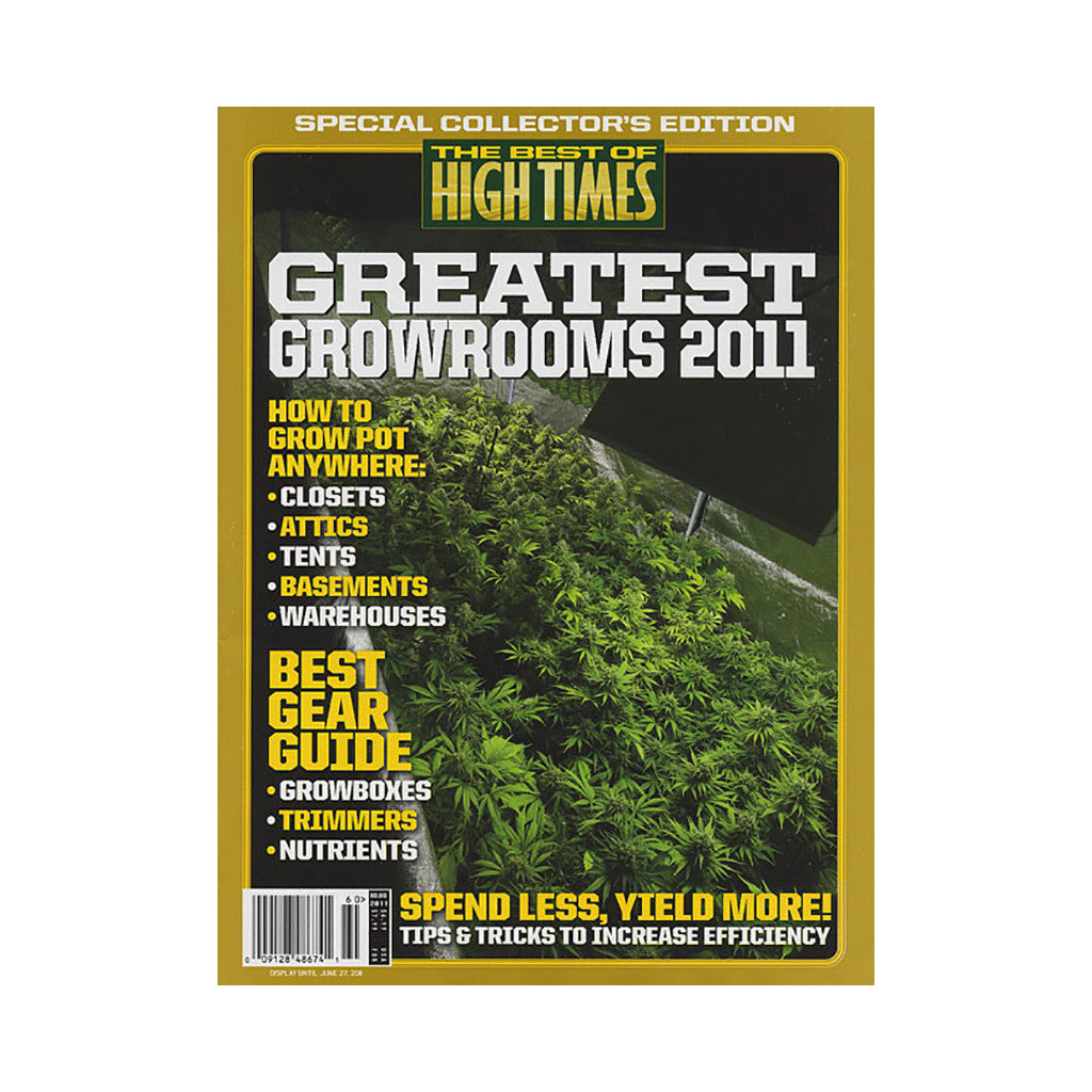 <!--020110419029738-->High Times - 'The Best Of High Times - Issue 60: Greatest Growrooms 2011' [Magazine]