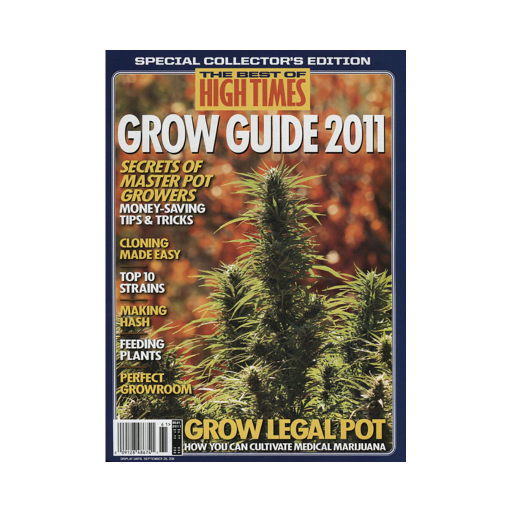 <!--020110628032324-->High Times - 'The Best Of High Times - Issue 61: Grow Guide 2011' [Magazine]