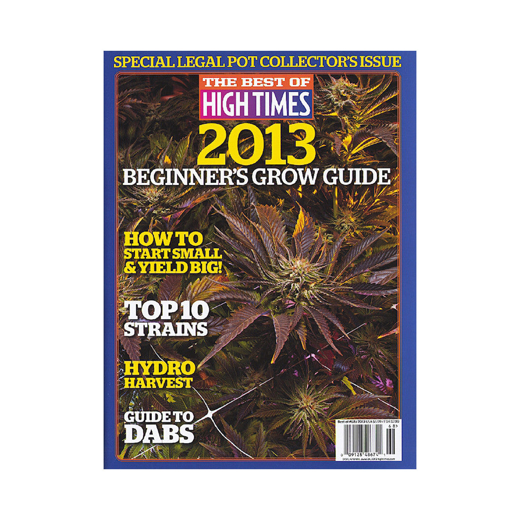 <!--020130402055661-->High Times - 'The Best Of High Times - Issue 68: Beginner's Grow Guide 2013' [Magazine]