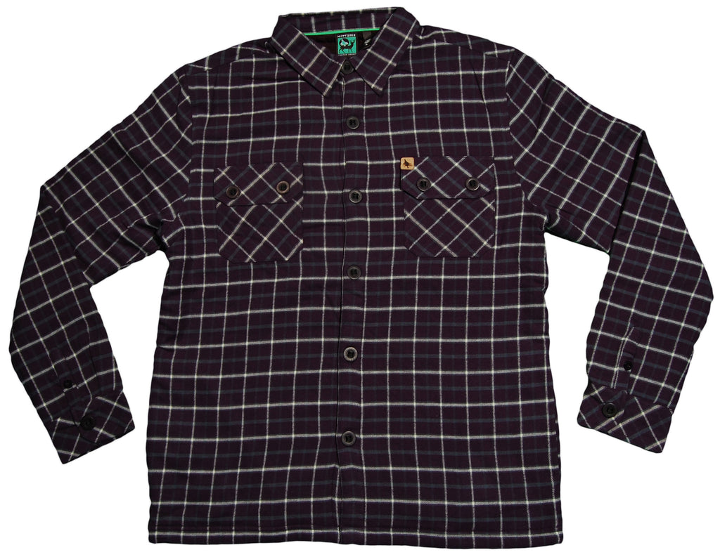 Hippy Tree - 'Ridge Flannel' [(Dark Blue) Button Down Shirt]