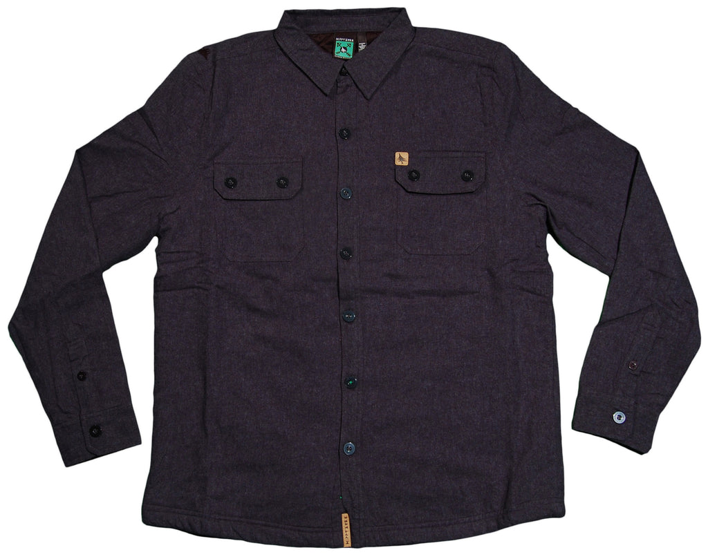 <!--2012111354-->Hippy Tree - 'Granite Woven' [(Dark Blue) Button Down Shirt]