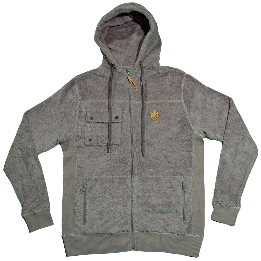 <!--2012111334-->Hippy Tree - 'Kodiak' [(Gray) Hooded Sweatshirt]