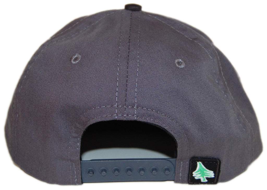 <!--020121113051612-->Hippy Tree - 'Crest' [(Dark Gray) Snap Back Hat]