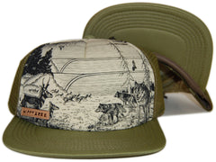 <!--020121113051609-->Hippy Tree - 'Victoria' [(Dark Green) Snap Back Hat]