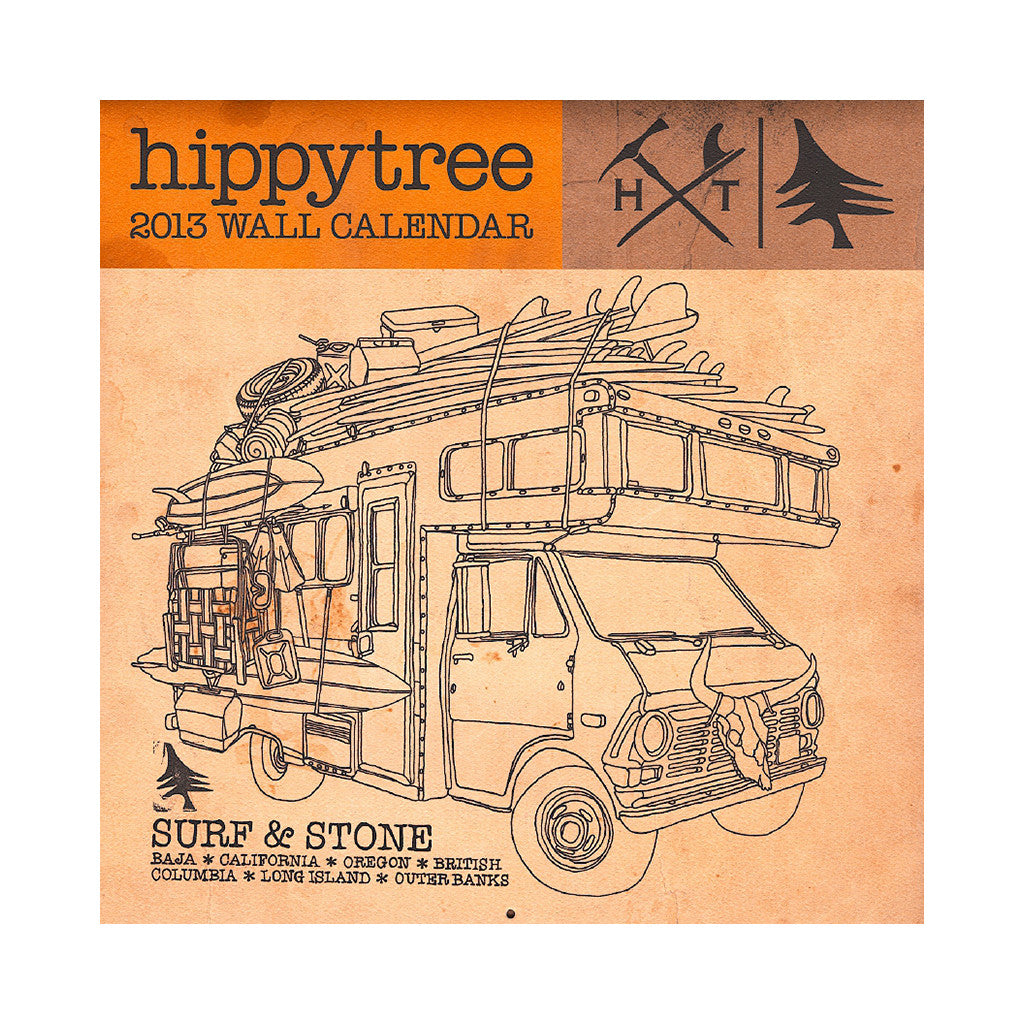 <!--020121113051620-->Hippy Tree - '2013 Tide Calendar' [Calendar]