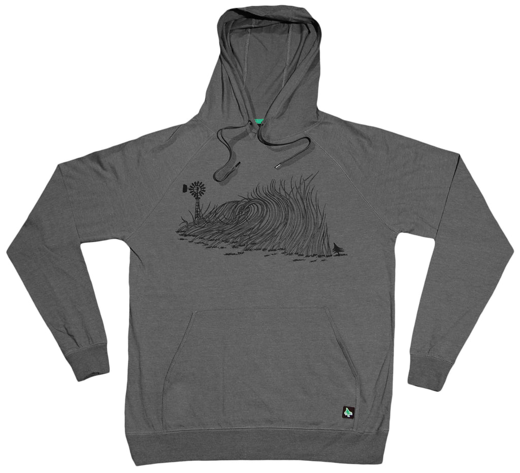 <!--2012030628-->Hippy Tree - 'Wheat' [(Dark Gray) Hooded Sweatshirt]