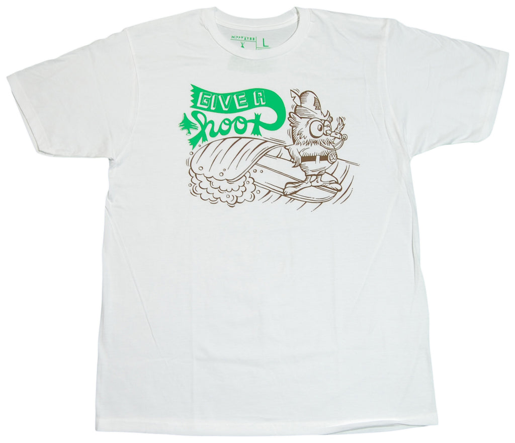 <!--2012030606-->Hippy Tree - 'Woodsy' [(White) T-Shirt]