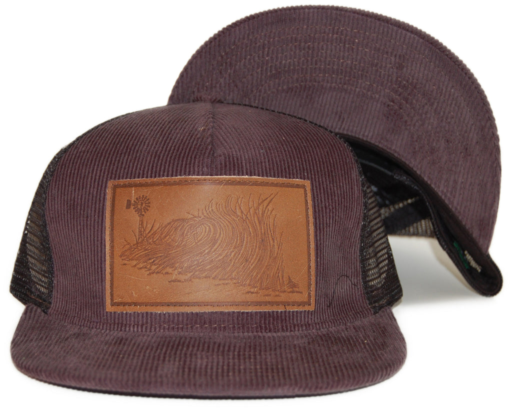<!--020120306043020-->Hippy Tree - 'Wheat' [(Dark Brown) Snap Back Hat]