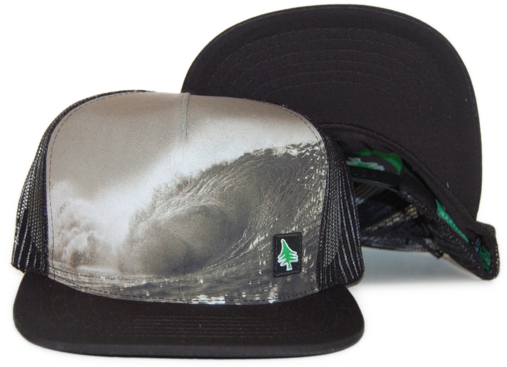<!--020120306043024-->Hippy Tree - 'Big Rock' [(Black) Snap Back Hat]