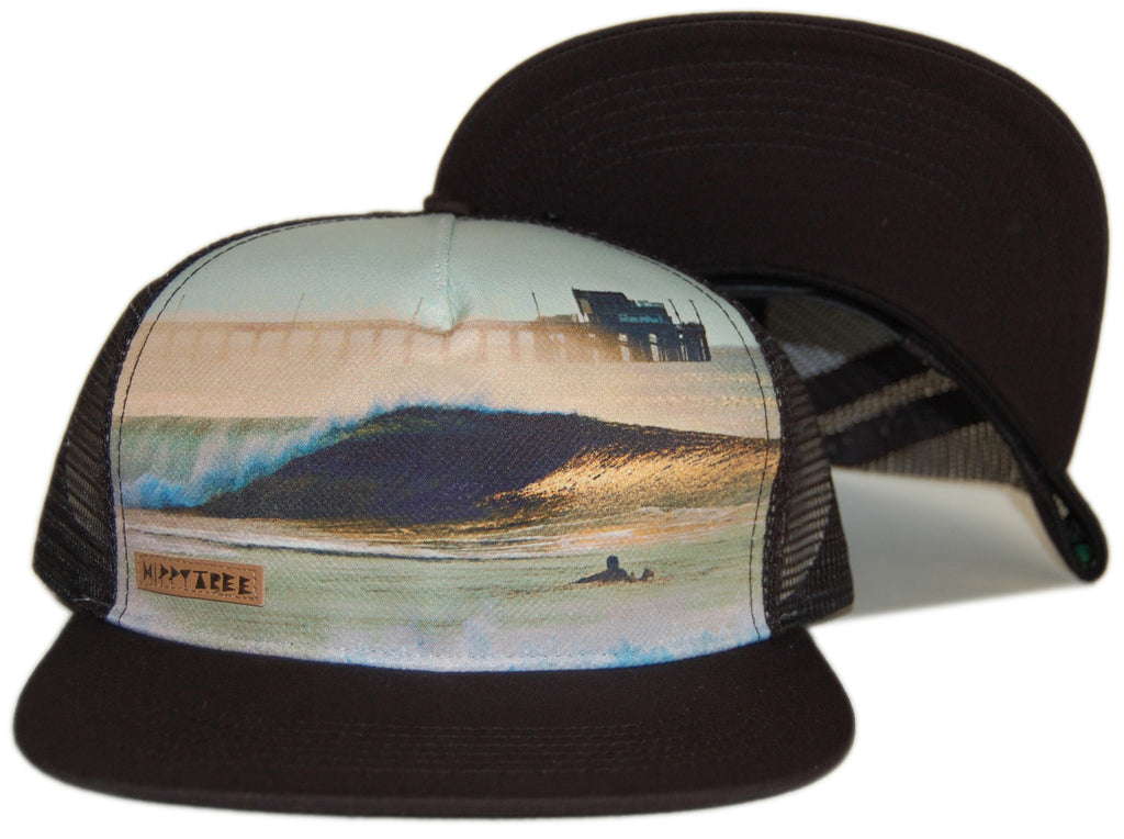 <!--2012080739-->Hippy Tree - 'Jetties' [(Black) Snap Back Hat]
