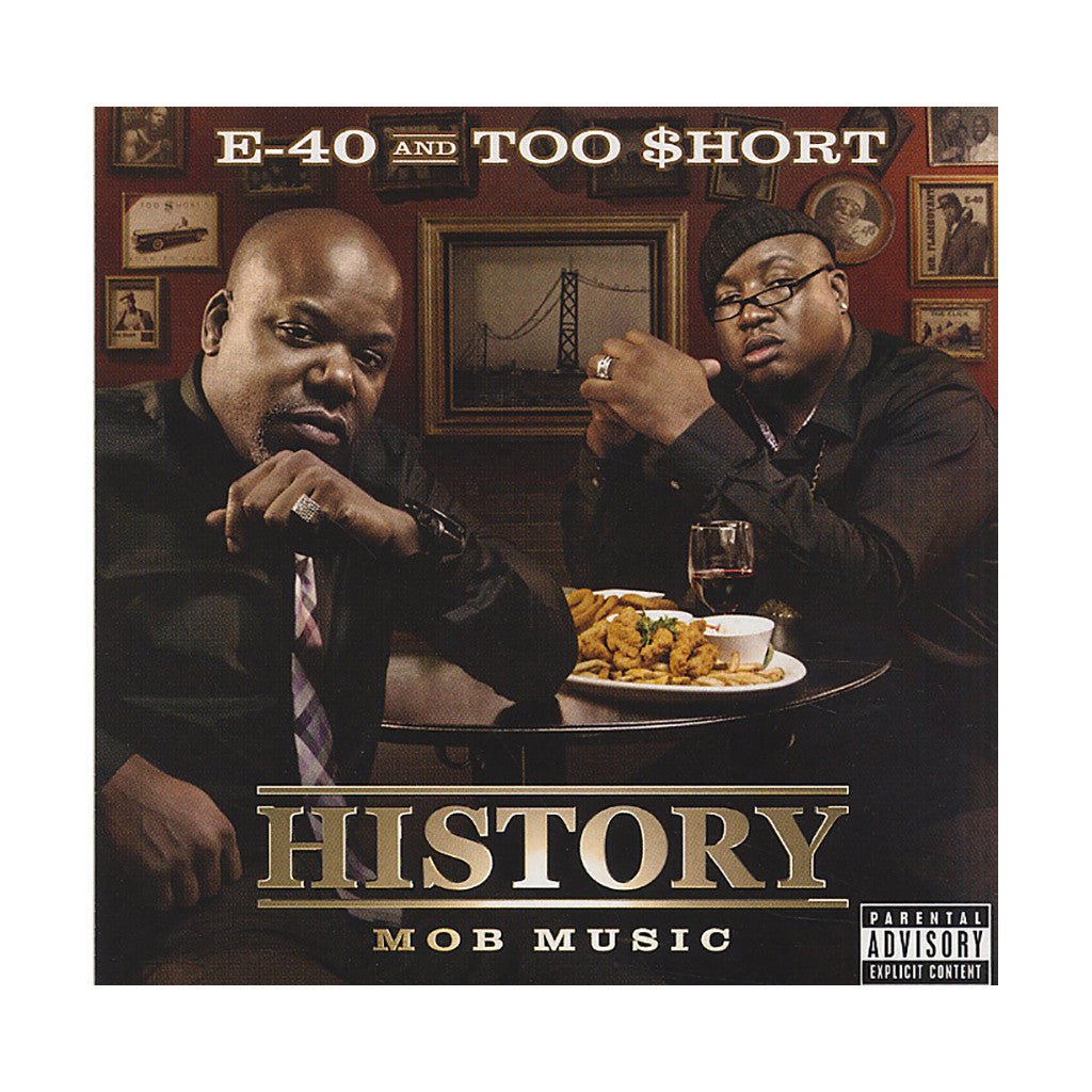 E-40 & Too $hort - 'History: Mob Music' [CD]