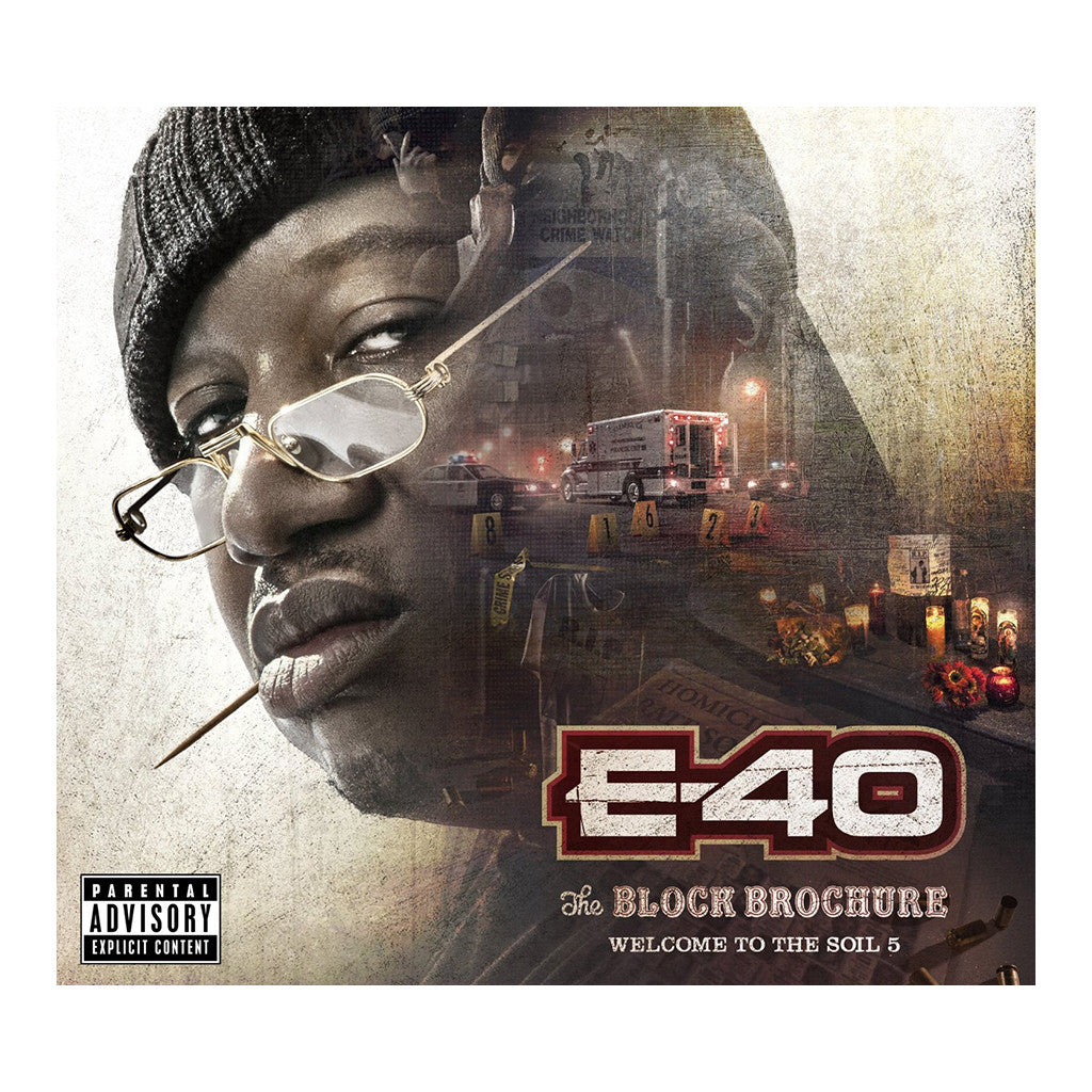E-40 - 'The Block Brochure: Welcome To The Soil, Pt. 5' [CD]