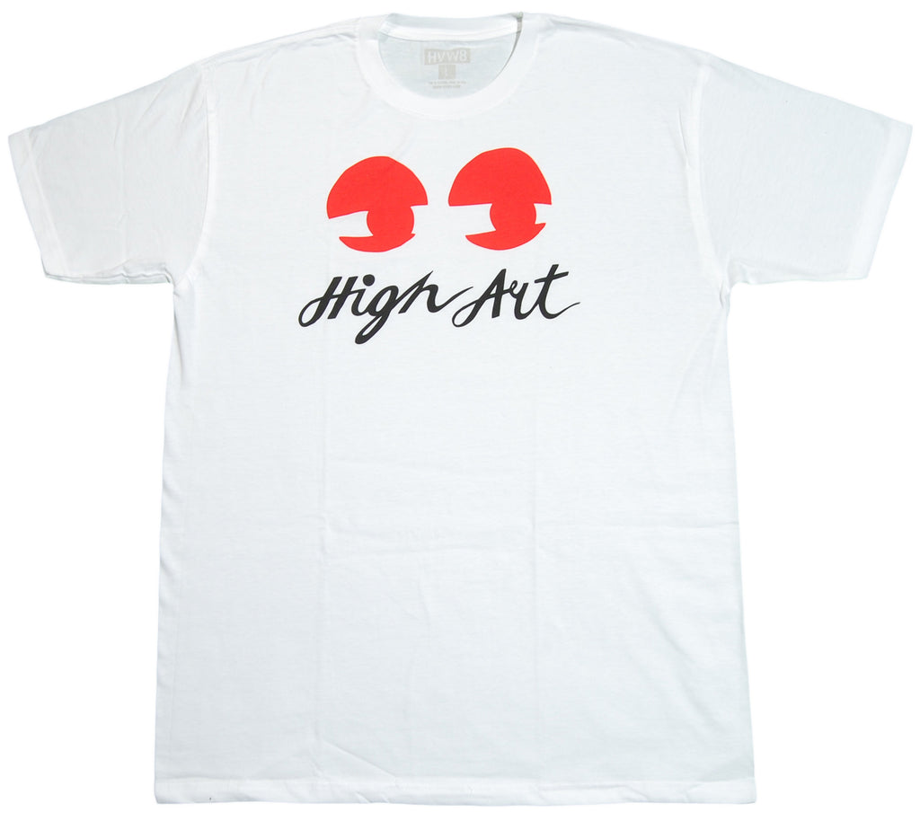 <!--2012091827-->HVW8 - 'High Art' [(White) T-Shirt]
