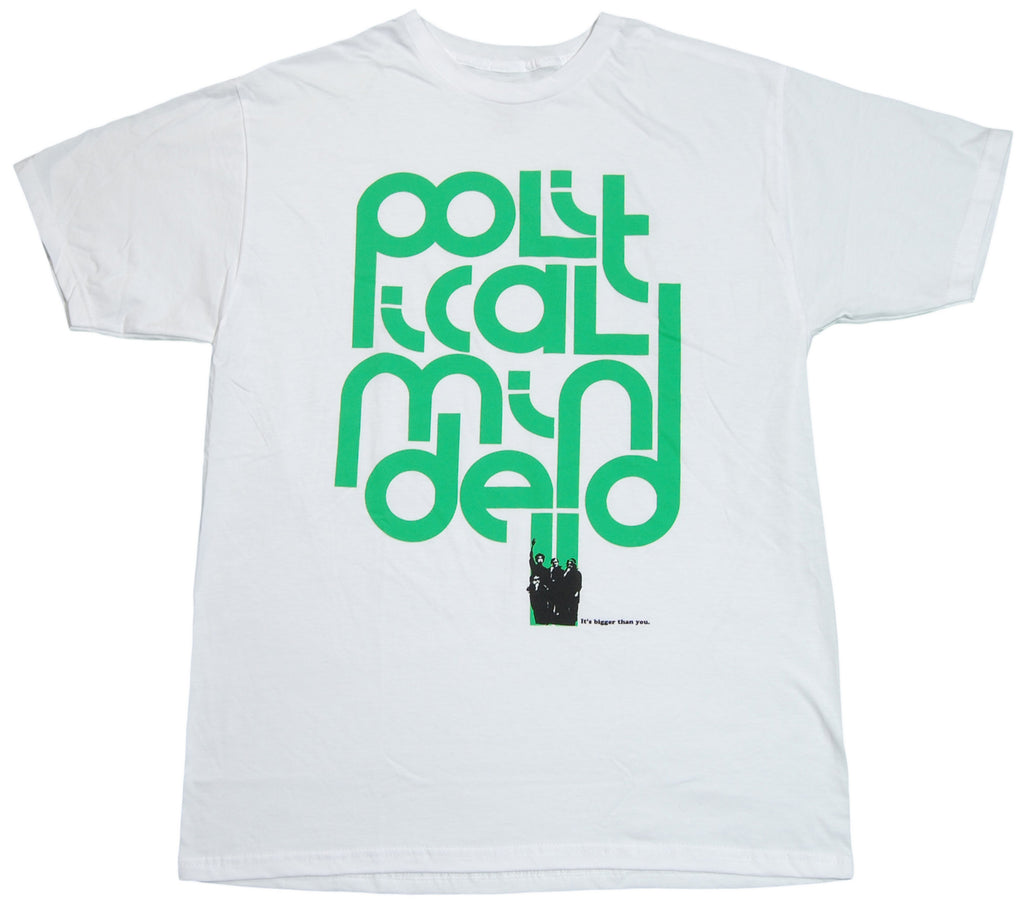 <!--2012011722-->HVW8 - 'Political Minded' [(White) T-Shirt]