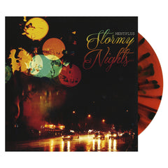 "<!--2015092549-->MentPlus - 'Stormy Nights EP' [(Orange w/ Black Splatter) 7"" Vinyl Single]"