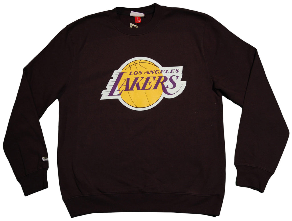 <!--2013091749-->Mitchell & Ness x NBA - 'Los Angeles Lakers - Tip Off' [(Black) Crewneck Sweatshirt]