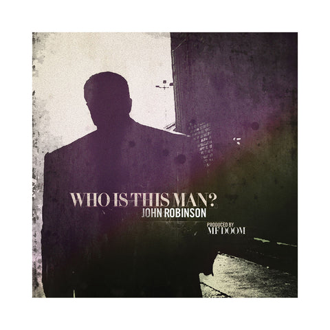 John Robinson & M.F. DOOM - 'Who Is This Man?' [(Black) Vinyl LP]