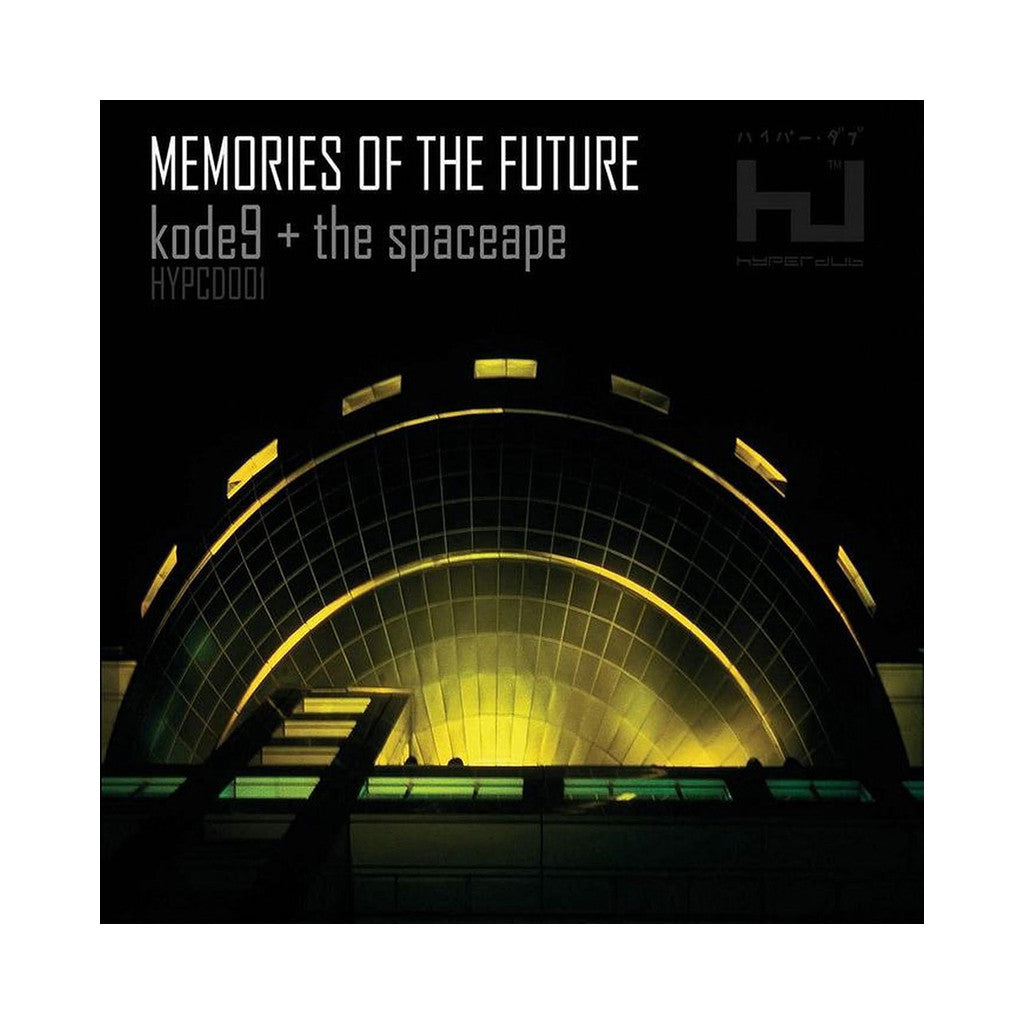 Kode9 & The Spaceape - 'Memories Of The Future' [CD]