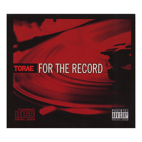 Torae - 'For The Record' [CD]