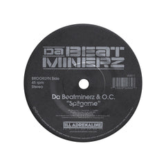 "<!--120130903058775-->B-1 & Large Professor b/w O.C. & Da Beatminerz - 'Hands Of Time b/w Spitgame' [(Black) 7"" Vinyl Single]"