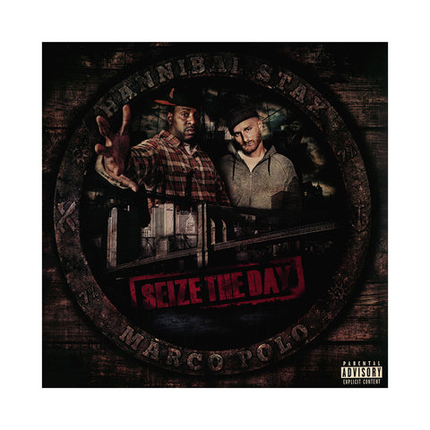 "[""Hannibal Stax & Marco Polo - 'Seize The Day' [(Black) Vinyl [2LP]]""]"